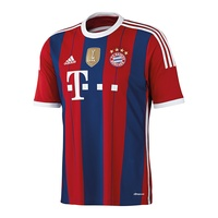 Adidas FC Bayern München Kinder Heim Trikot 2014/2015 fcb true red/collegiate royal/white Gr. 164