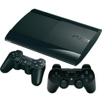 Sony PS3 Super Slim 500GB + 2x DualShock 3 Controller