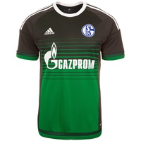 Adidas FC Schalke 04 Herren 3rd Trikot 2015/2016 night grey/green/white M