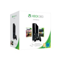 Microsoft Xbox 360 250GB + Halo 4 + Forza Horizon (Bundle)
