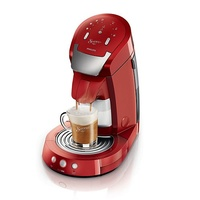 Philips Senseo Latte Select HD7854/80 Rubinrot