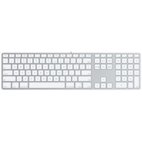 Apple Tastatur mit Ziffernblock DE (MB110D/A)