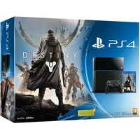 Sony PS4 500GB schwarz + Destiny (Bundle)