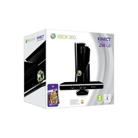 Microsoft Xbox 360 Slim 250GB + Kinect  + Kinect Adventures (Bundle)