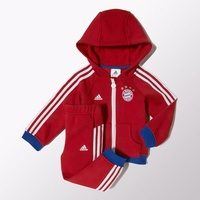 Adidas FC Bayern München Kinder Trainingsanzug fcb true red/collegiate royal Gr. 62