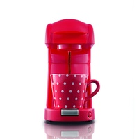 Coffee Maxx Single-Kaffeepadmaschine rot