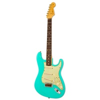 Fender Custom Shop 1960 Stratocaster Relic Team Built RW SFG surf green