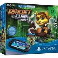 Sony PS Vita WiFi + The Ratchet & Clank Trilogy (Bundle)