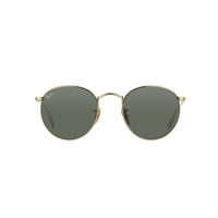 Ray Ban Round Metal RB3447 001 gold / crystal green