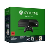 Microsoft Xbox One 500GB + Rise of the Tomb Raider + Forza 6 + Halo: MCC oder Rare Replay (Bundle)