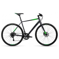 Cube SL Road Pro 28 Zoll RH 56 cm grey/black/flashgreen 2016