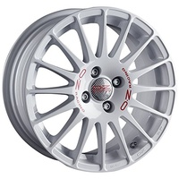OZ Racing LEICHTMETALLRADER SUPERT. WRC 8x17 ET 35 OZ RACING 5x100 WHITE RED LETTERING