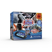 Sony PS Vita WiFi Action Mega Pack 8GB