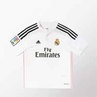Adidas Real Madrid Kinder Heim Trikot 2014/2015 white/black/blast pink Gr. 176