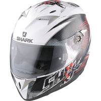 Shark S900-C Finks White/Black/Red