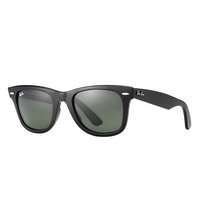 Ray Ban Original Wayfarer RB2140 901 black / crystal green
