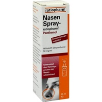 Ratiopharm NASENSPRAY ratiopharm Panthenol 20 ml
