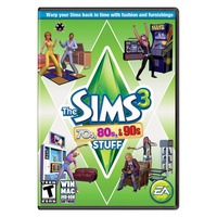Die Sims 3: 70er, 80er & 90er-Accessoires (Add-On) (Download) (PC/Mac)