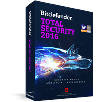 BitDefender Total Security 2016 3 User ESD DE Win