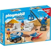 Playmobil City Action SuperSet Baustelle (6144)