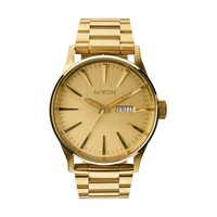 Nixon A356 502 Sentry SS Herrenuhr All Gold