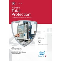 McAfee Total Protection 2015 ESD DE Win