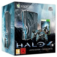Microsoft Xbox 360 Slim 320GB grau + Halo 4 (Limited Edition)