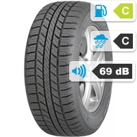 Goodyear Wrangler HP  All Weather SUV 245/65 R17 111H