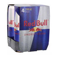 Red Bull Energy Drink 4x250 ml