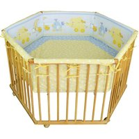TIGGO Honey Bee Luxus 6-eckig 128 x 128 cm natur